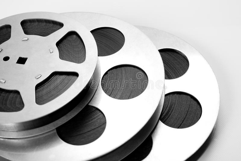 bobines de film de 16mm photographie stock