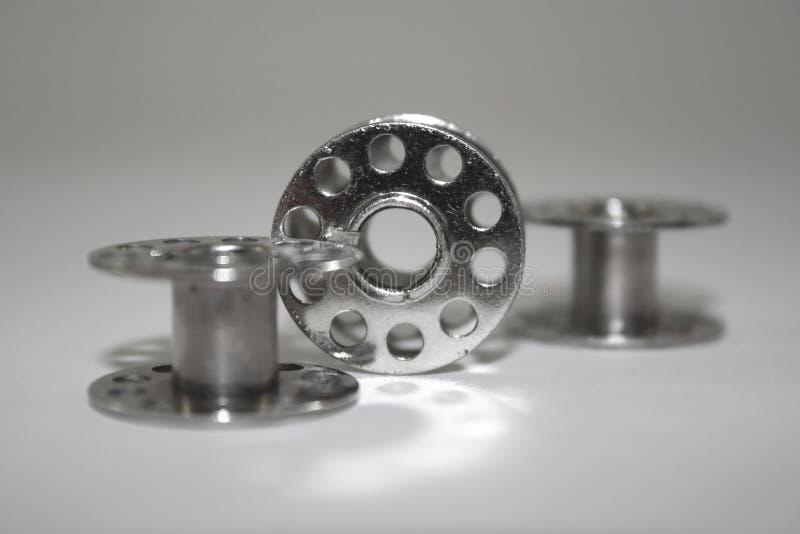 Bobines en métal images libres de droits
