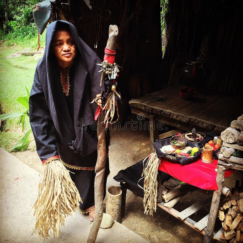 Bobohizan (szaman) fotografia stock
