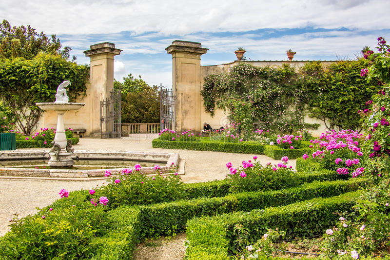 Bobolituinen (Giardini Di Boboli) - Florence stock foto's
