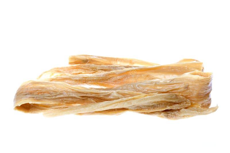 bobowego twarogu sojowego paski suszony zdjęcia royalty free