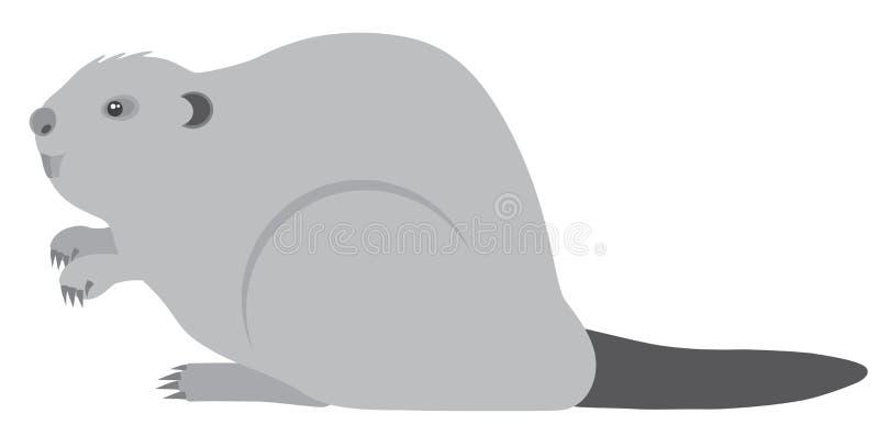 Download Bobra Grayscale Wektoru Ilustracja Ilustracji - Ilustracja złożonej z ślepuszonka, erozja: 57668612