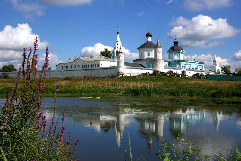 Bobrenev修道院在Kolomna,俄罗斯 免版税库存照片