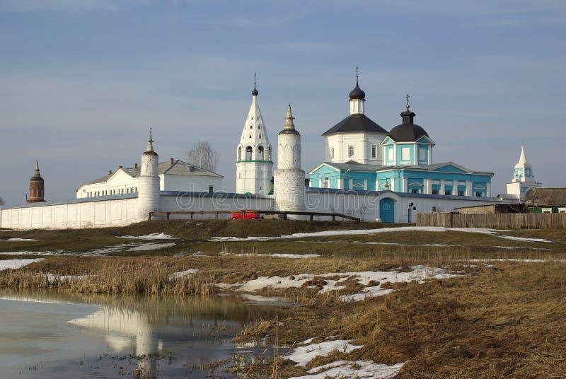 Bobrenev russisches orthodoxes Kloster in Kolomna stockfotografie