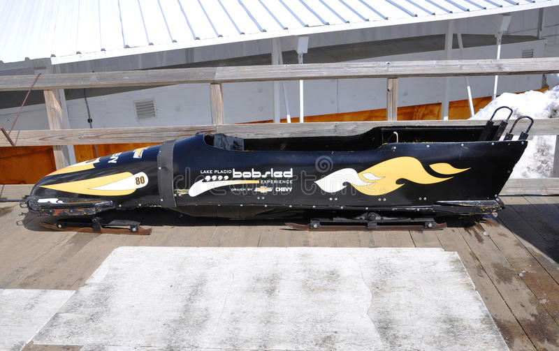 Download Bobsled In Lake Placid Olympic Sports Complex, USA Editorial Stock Photo - Image: 21802268