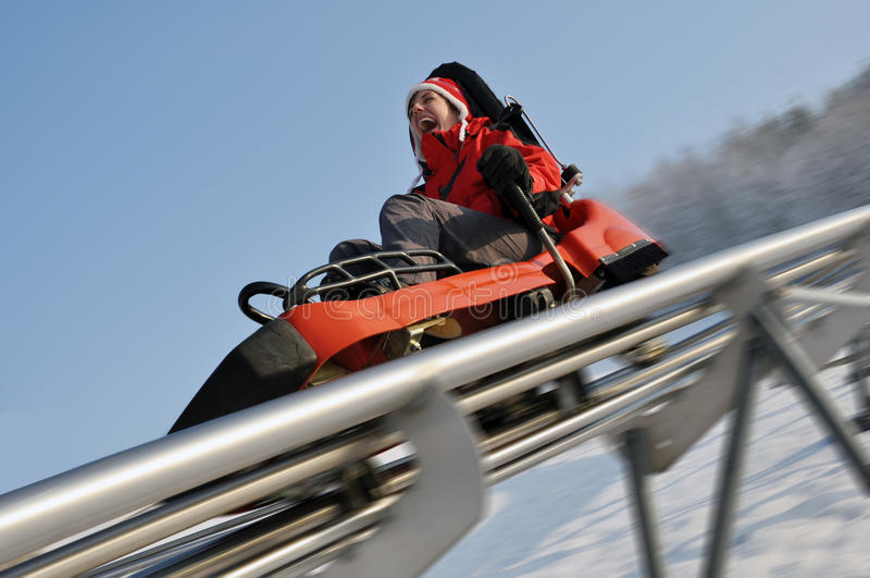 bobsleigh στοκ φωτογραφία με δικαίωμα ελεύθερης χρήσης
