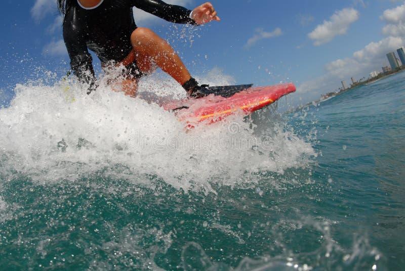 Bobyboarder Girl Stock Photo