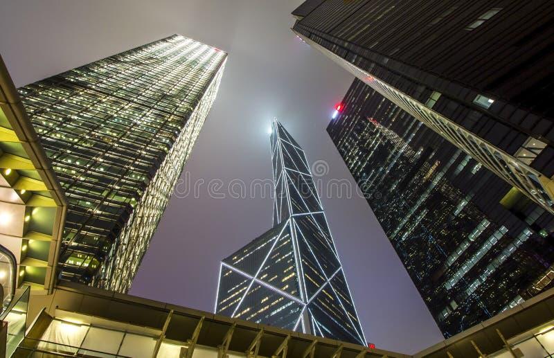 BOC-Turm und Architekturgebäude stockbilder