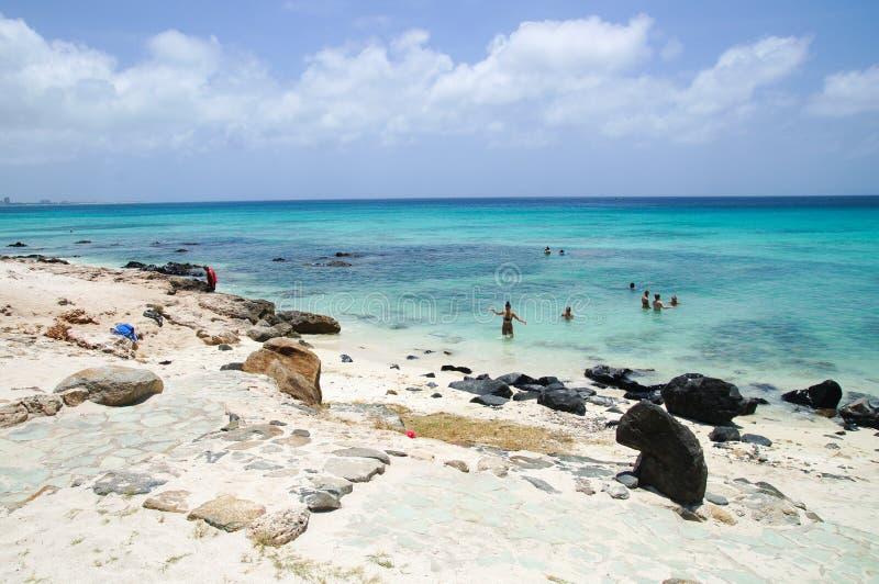 Boca卡塔利娜小海湾 库存图片