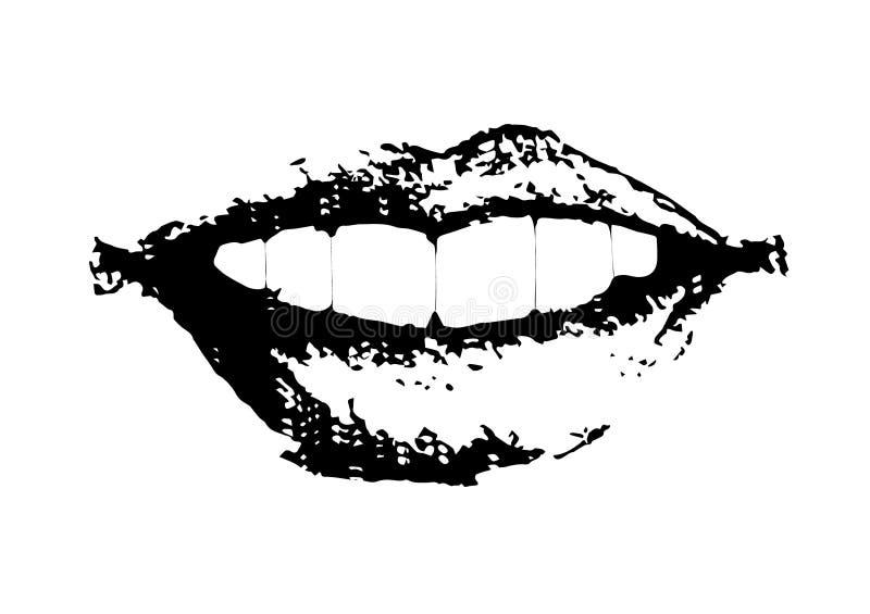 boca foto de archivo libre de regalías