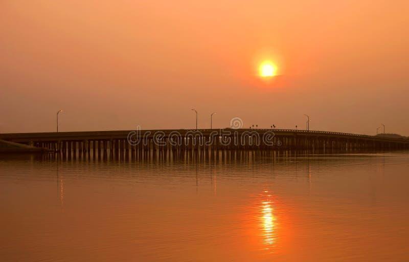 Download Boca bay bridge ciega obraz stock. Obraz złożonej z most - 138657