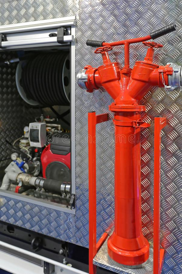 Boca de incêndio da água fotos de stock royalty free