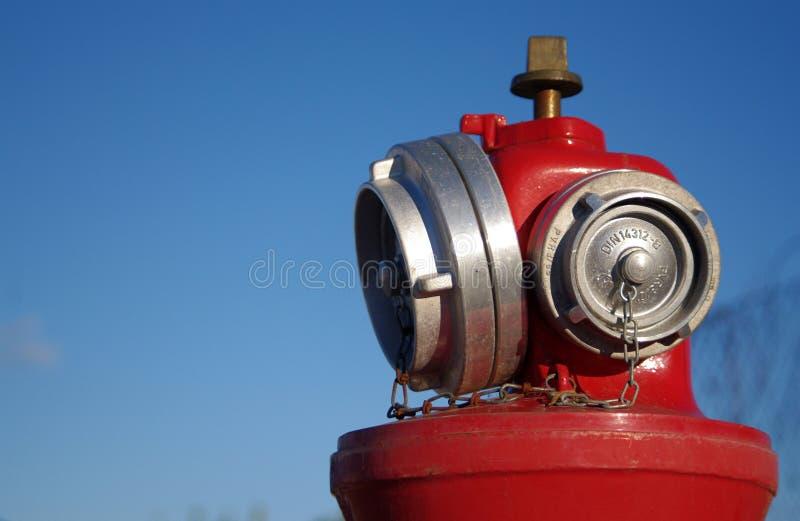 Boca de incêndio de incêndio foto de stock