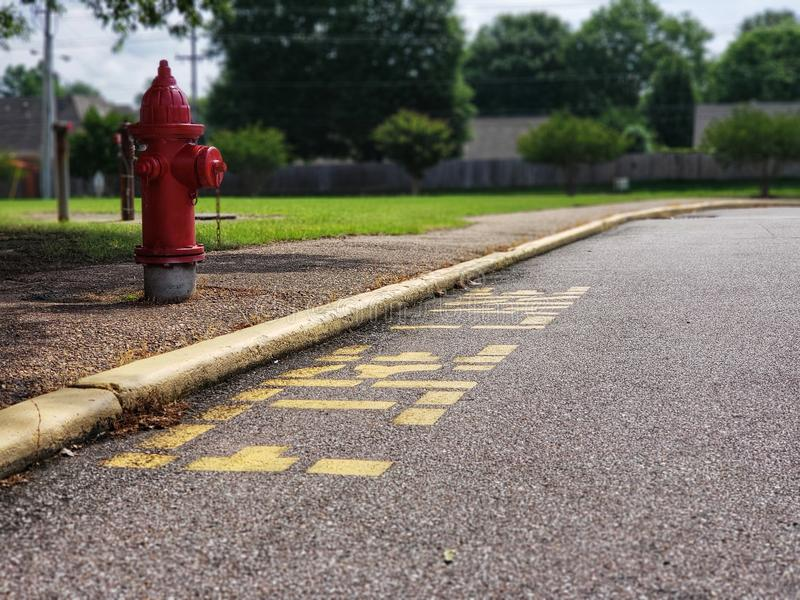 Boca de incêndio de fogo Memphis, TN foto de stock
