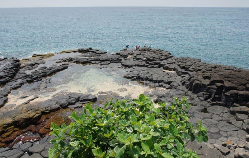 Boca de Inferno São Tomé och Príncipe royaltyfria foton