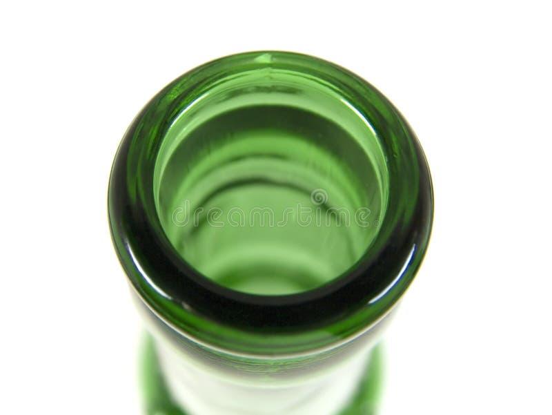 Boca de la botella imagen de archivo