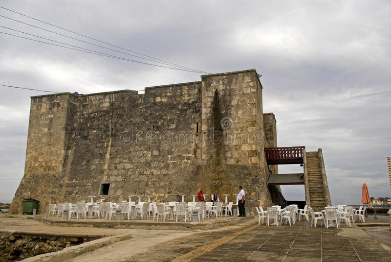 Boca de la Chorrea Fort, Havana, Cuba stock photography