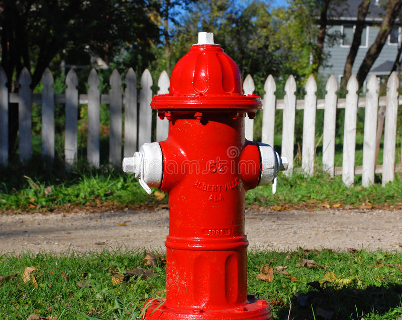 Boca de riego de fuego imagen de archivo