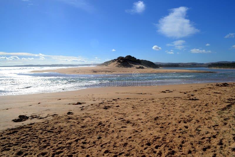 Download Oceano & sandunes do rio foto de stock. Imagem de nuvem - 29844374