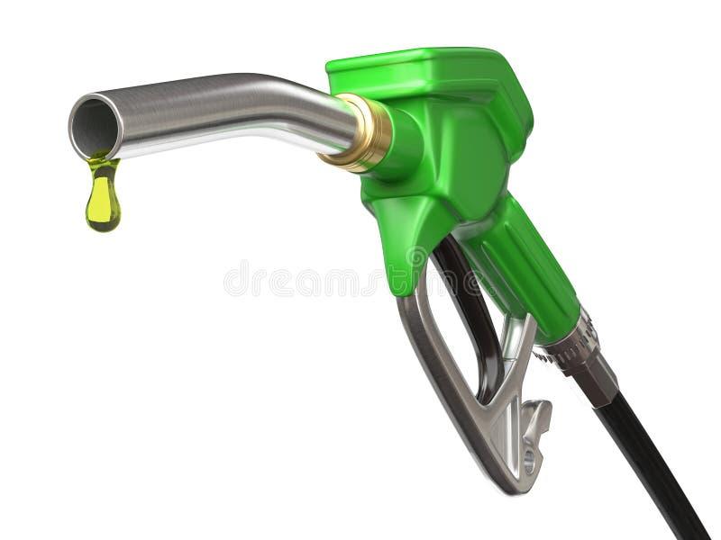 Boca del surtidor de gasolina ilustración del vector