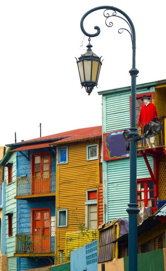 Boca do La - Caminito fotografia de stock royalty free