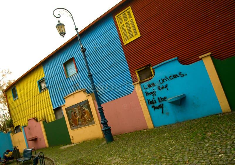 Boca do La - Caminito fotos de stock