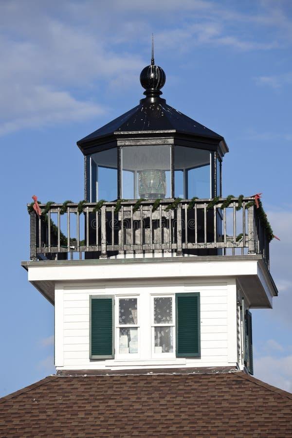 boca grande latarni morskiej port obraz royalty free