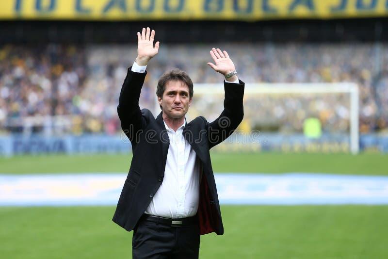 Boca Juniors Champion del torneo 2017 imagen de archivo
