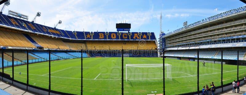 Boca Juniors Stadium Buenos Aires, Argentina royaltyfri foto