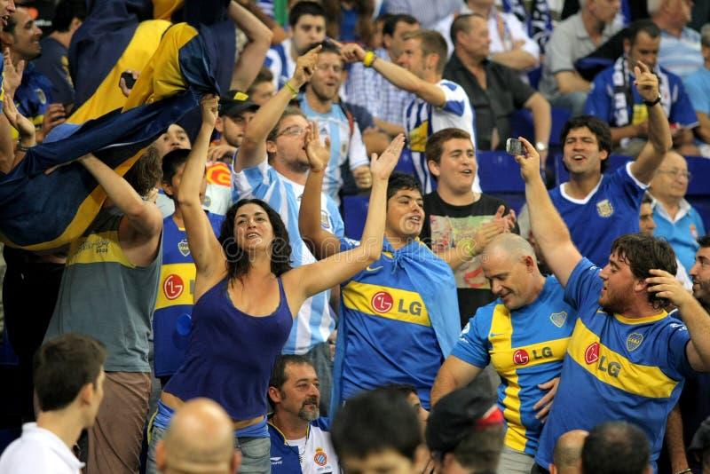 Download Boca Juniors supporters editorial stock image. Image of juniors - 20568379