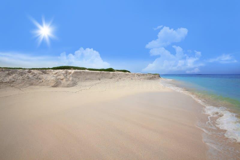 boca plażowy grandi obraz royalty free