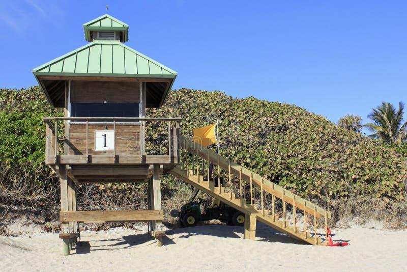 Boca Raton Lifeguard Tower 1 photos libres de droits