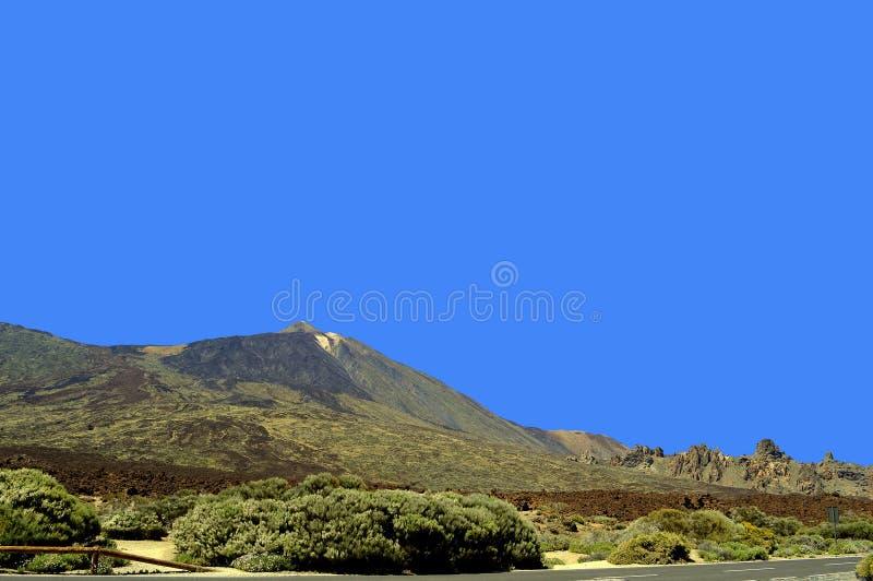 Boca Tauce w góry Teide parku narodowym fotografia stock