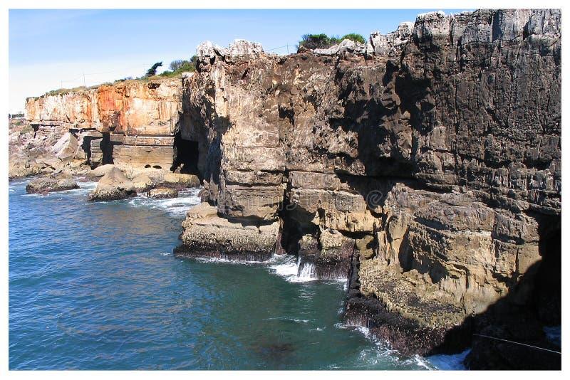 Boca tun Inferno - Cais Cais - Portugal stockfotos