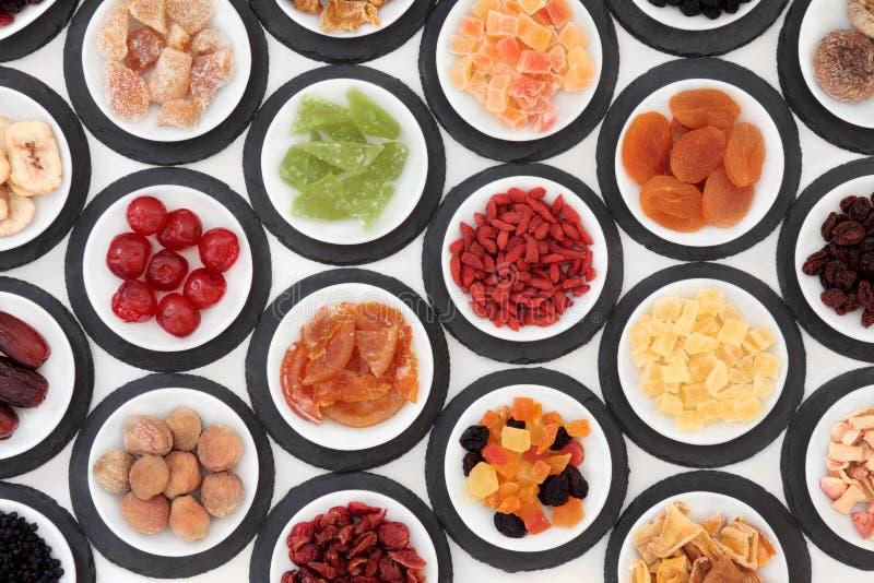 Bocados sanos de la fruta fotografía de archivo libre de regalías