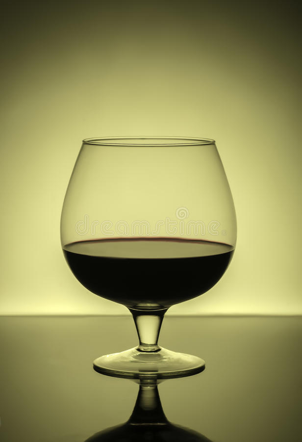 Bocal com vinho fotos de stock