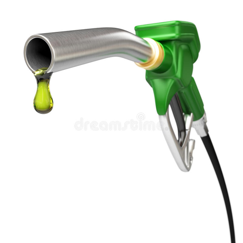 Bocal da bomba de combustível ilustração do vetor