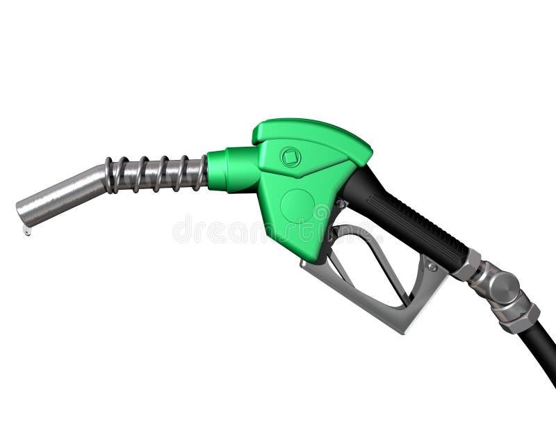 Bocal da bomba de gás ilustração do vetor