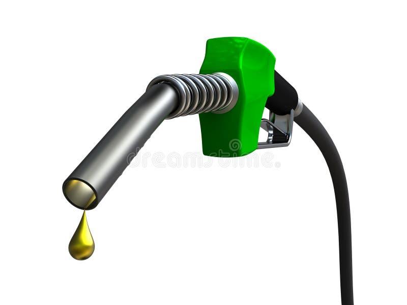 Bocal de combustível ilustração royalty free