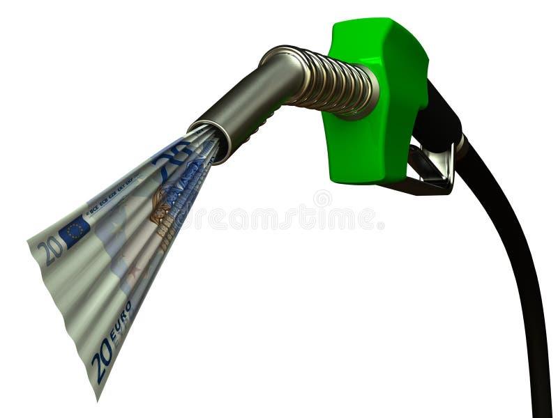 Bocal de combustível ilustração do vetor
