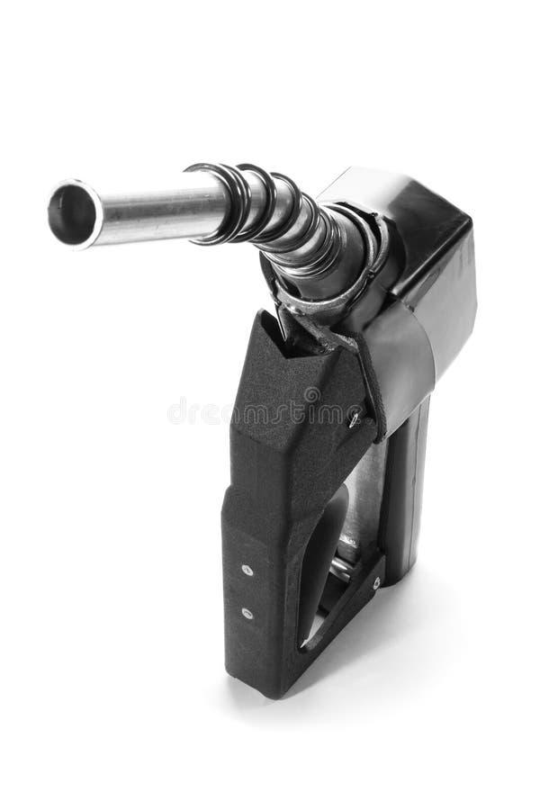 Bocal de combustível preto fotografia de stock royalty free