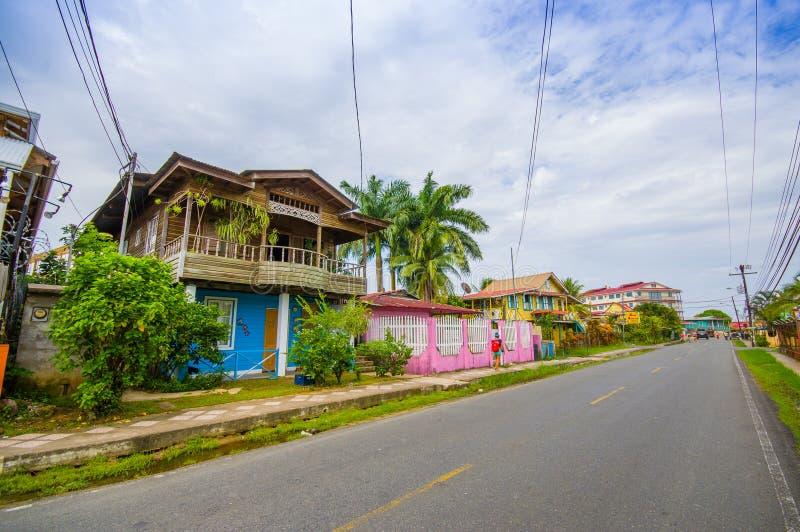 Bocas Del Toro Panama royaltyfri fotografi