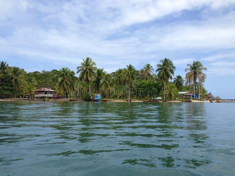 Bocas delToro öar arkivfoton
