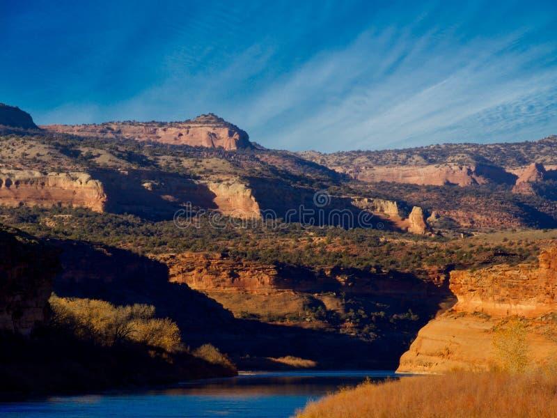 Bocca del canyon di Horsethief immagini stock libere da diritti