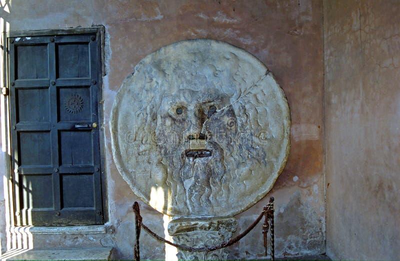 Bocca del Verita - στόμα της αλήθειας, Ρώμη, Ιταλία στοκ εικόνες με δικαίωμα ελεύθερης χρήσης