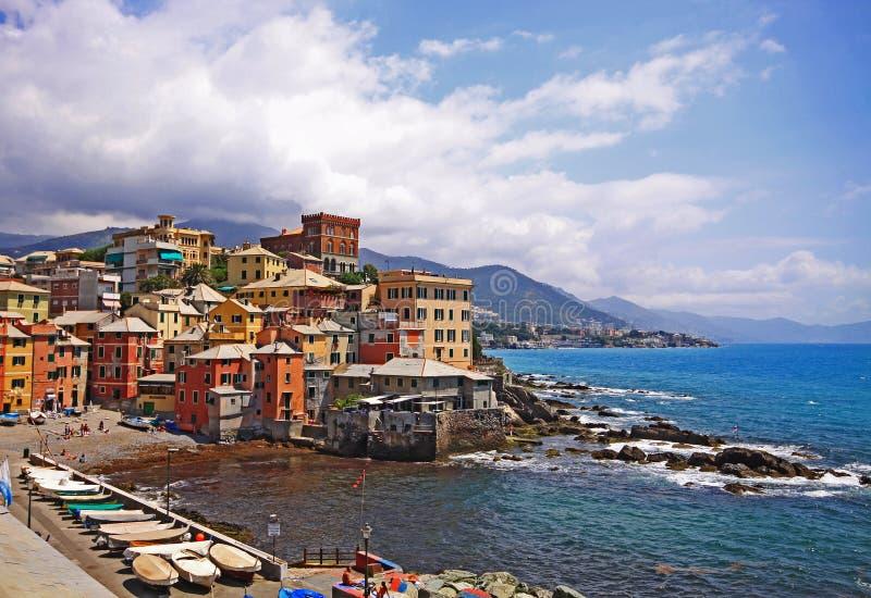 Genova, Boccadasse fotografia stock libera da diritti