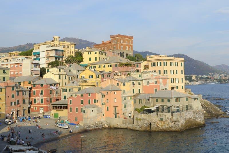 Boccadasse di Genova fotografia stock libera da diritti