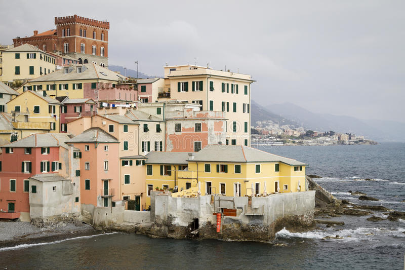 Download Boccadasse: Small Town On The Sea Stock Photo - Image: 24177230