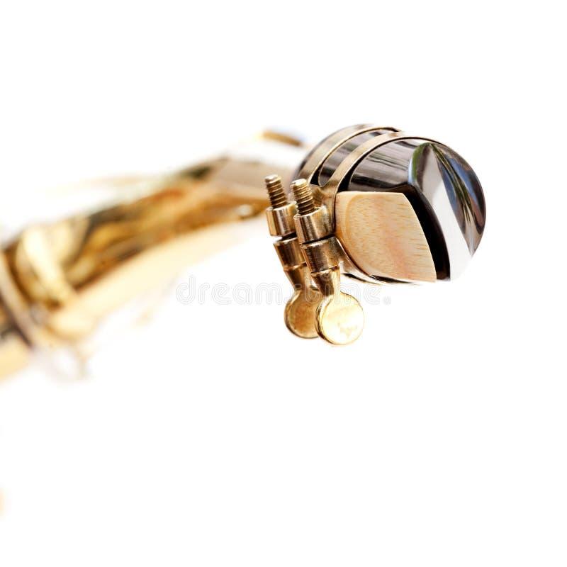 Boccaglio del sassofono fotografia stock