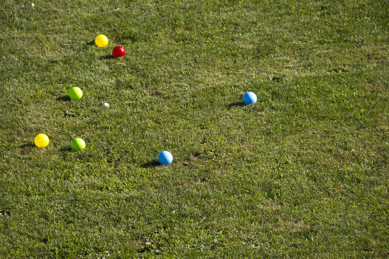 Download Bocce ball stock image. Image of winner, bowling, loss - 14841299